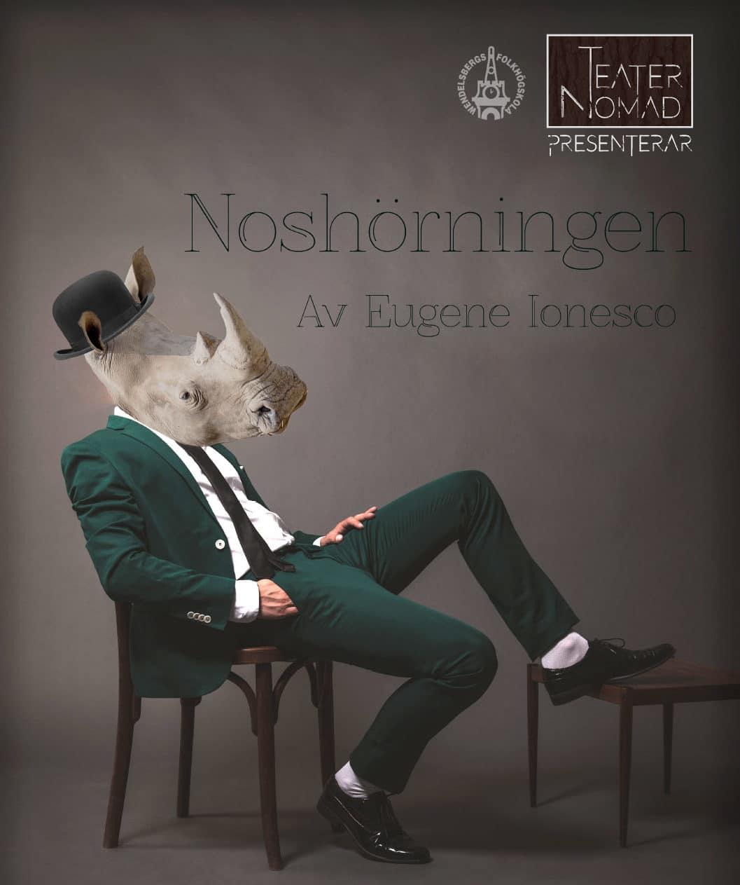 Teater Nomad: Noshörningen + Trender i landet lagom