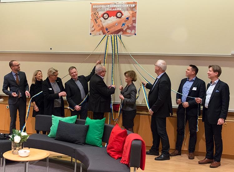Regionalt Exportcenter i Dalarna invigt!