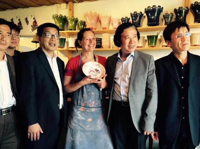 Dalaföretagare till Kina