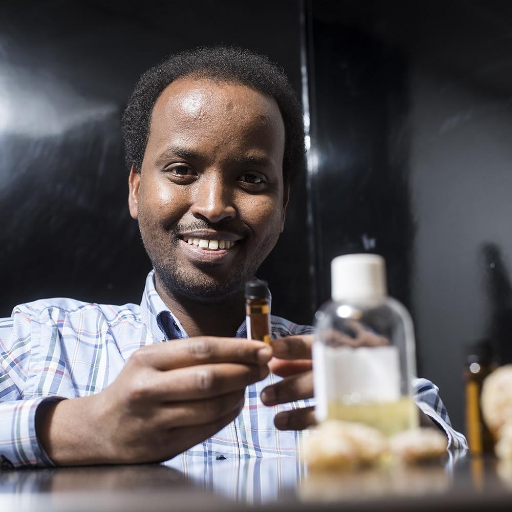 Exklusiva dofter från Somalia
