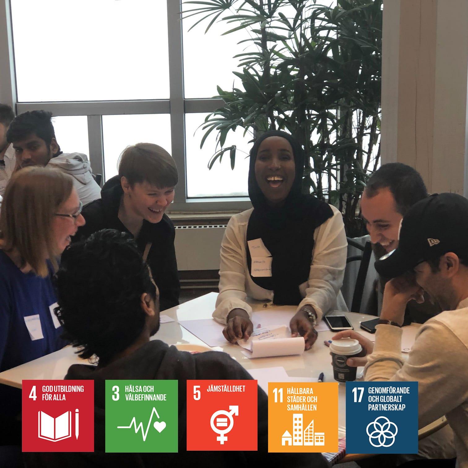 Framtidens Jakobsdalen utvecklas med innovativa idéer av internationella studenter