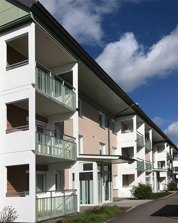 Sustainable energy efficient renovation Tjärna Ängar