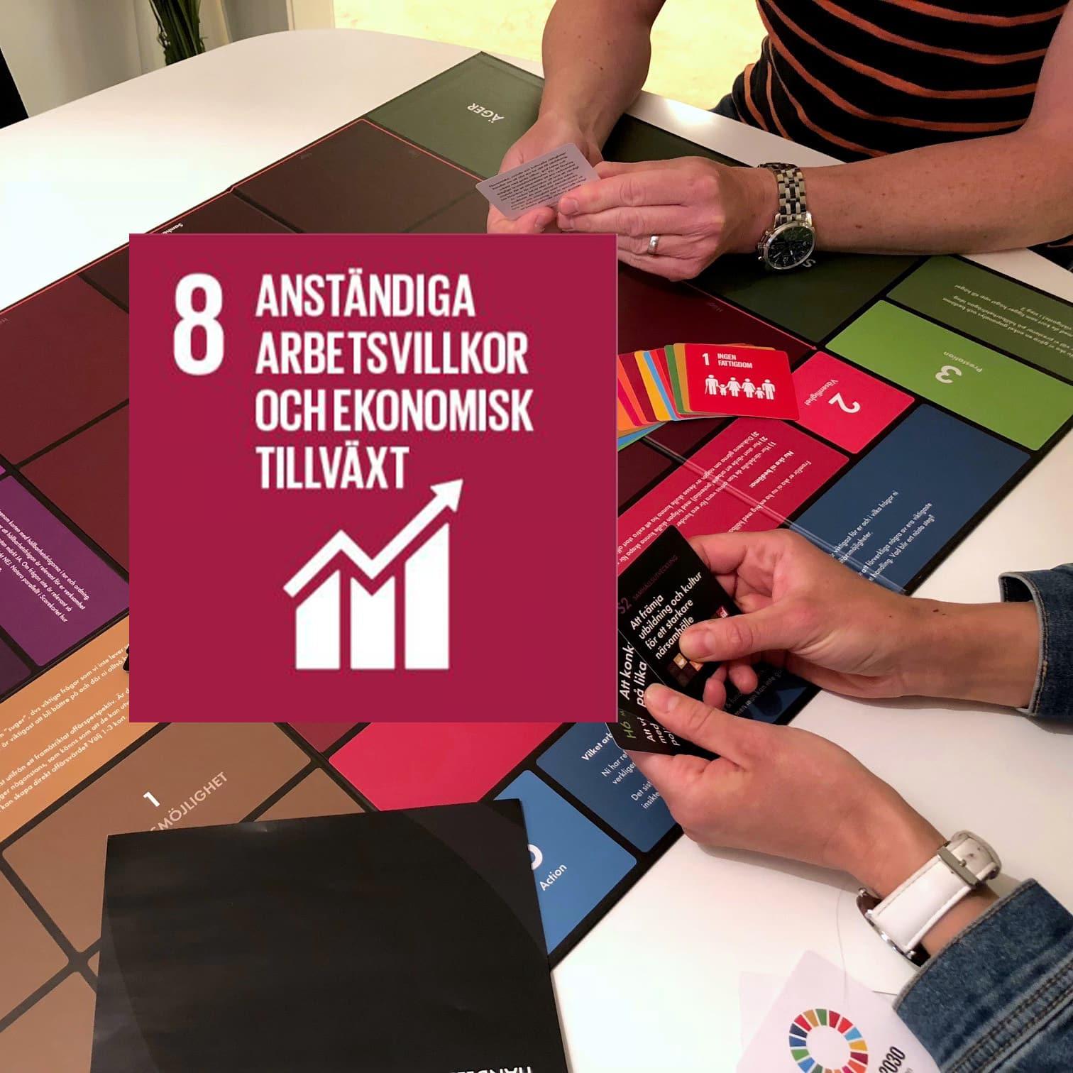 Hållbara företag gör skillnad och bidrar till FNs mål 8