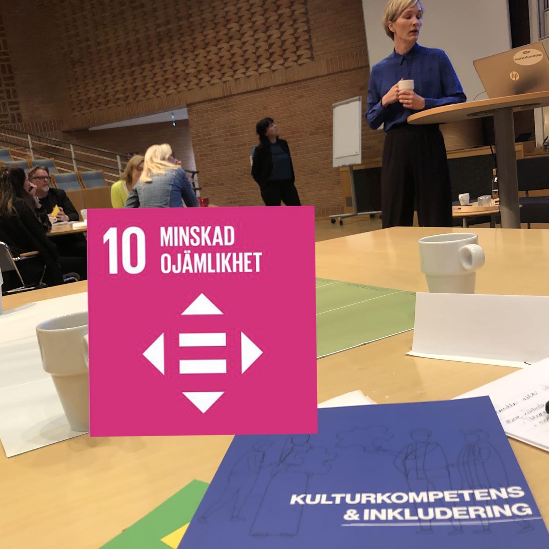 Inkludering ger tillväxt och bidrar till FNs mål 10