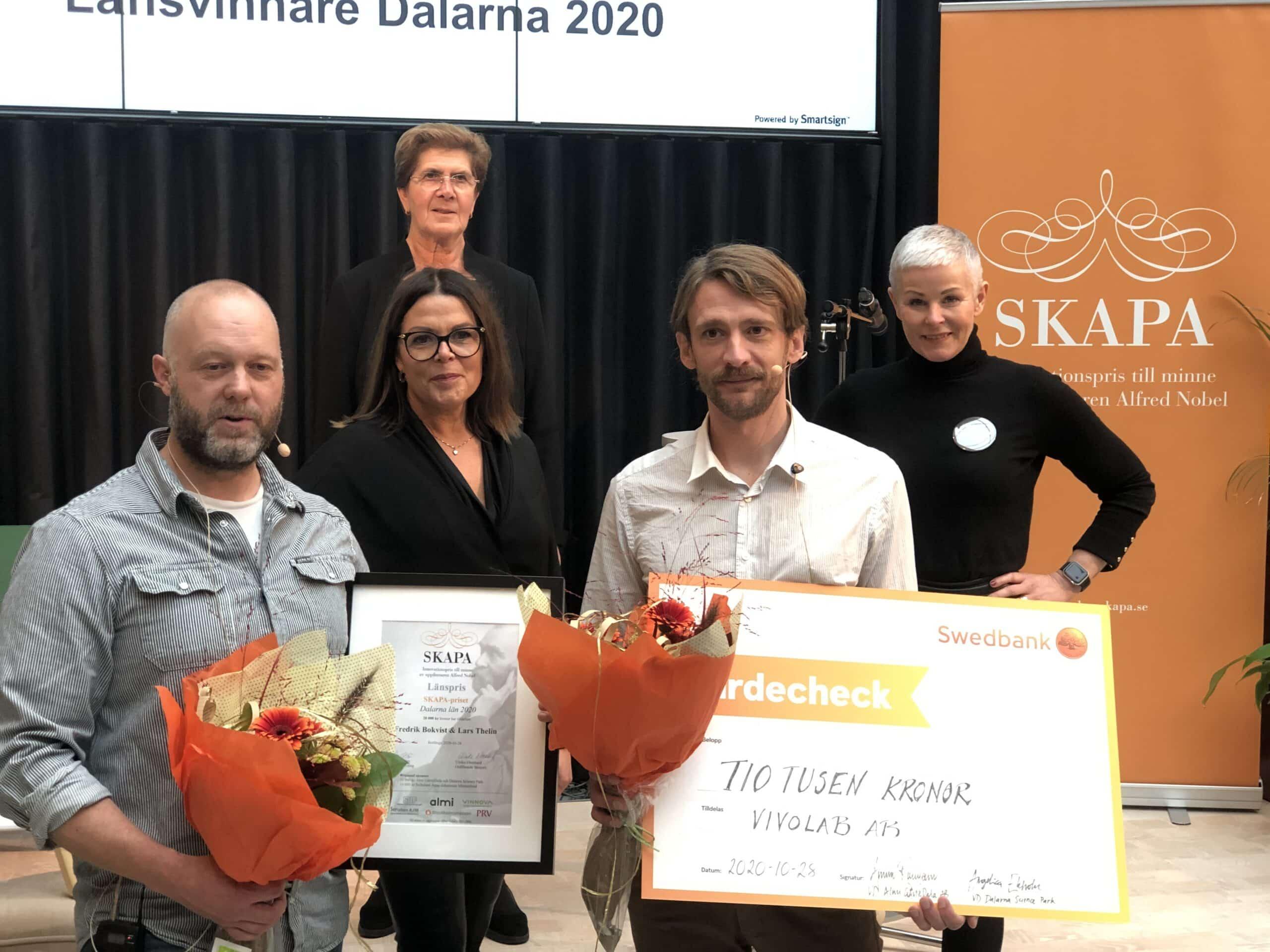 Årets SKAPA-innovatörer i Dalarna har fokus på framtidens hälsa