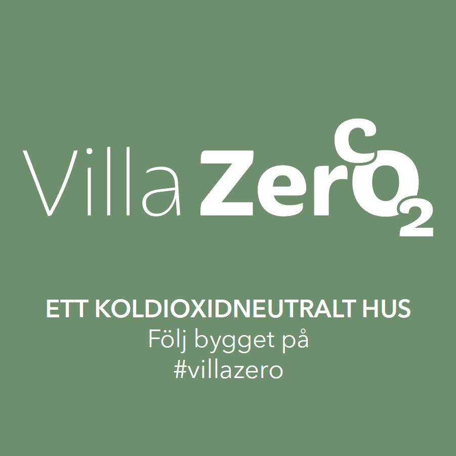 Villa Zero – Sweden's first carbon neutral single-family house to be built in Dalarna